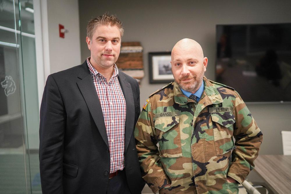 Brad Thomas and Eric Gansel SSG (Ret)