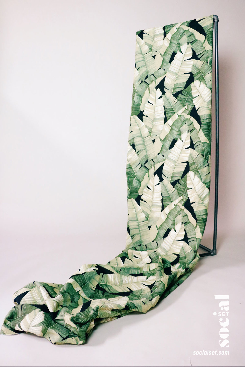Banana Leaf Fabric Prop
