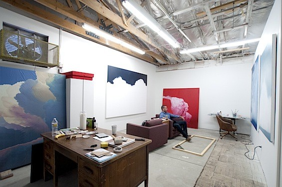 Ian Fisher's Studio