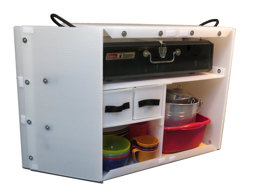 camping kitchen box 1000 - Camping Kitchen