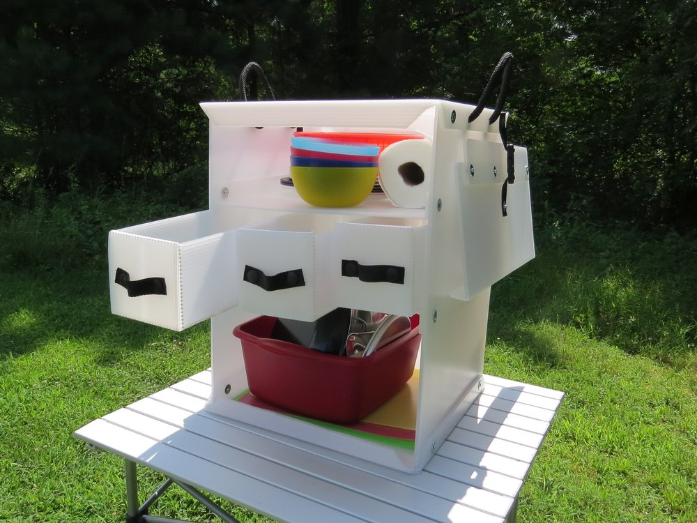 camping kitchen box 650 - Camping Kitchen