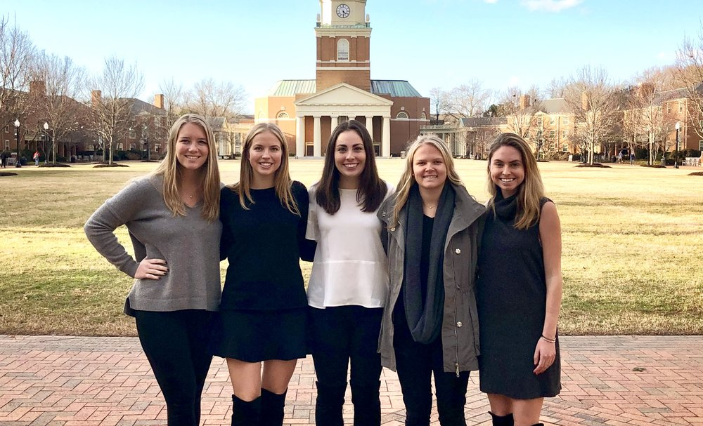 NORI Co-Founders (From Left): Lauren Connors, Claire O'Brien, Alexis Schmittlein, Annabel Love, and Courtney Toll.