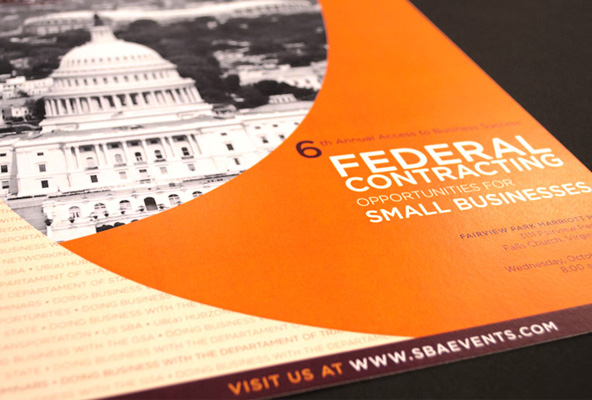 Federal Contracting Poster