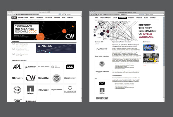 CCDC 2011 Website