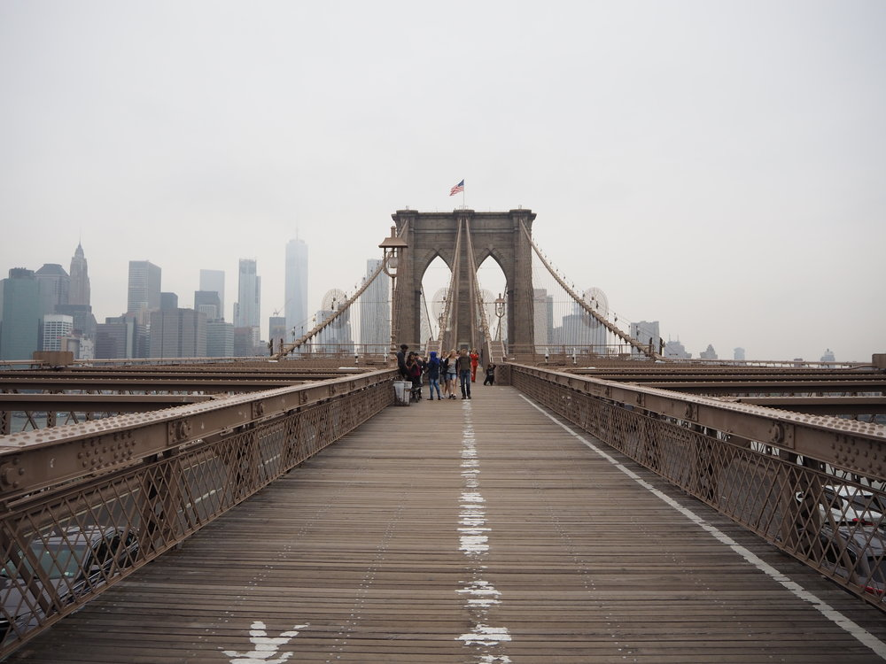 Brooklyn Bridge by Parker Journal