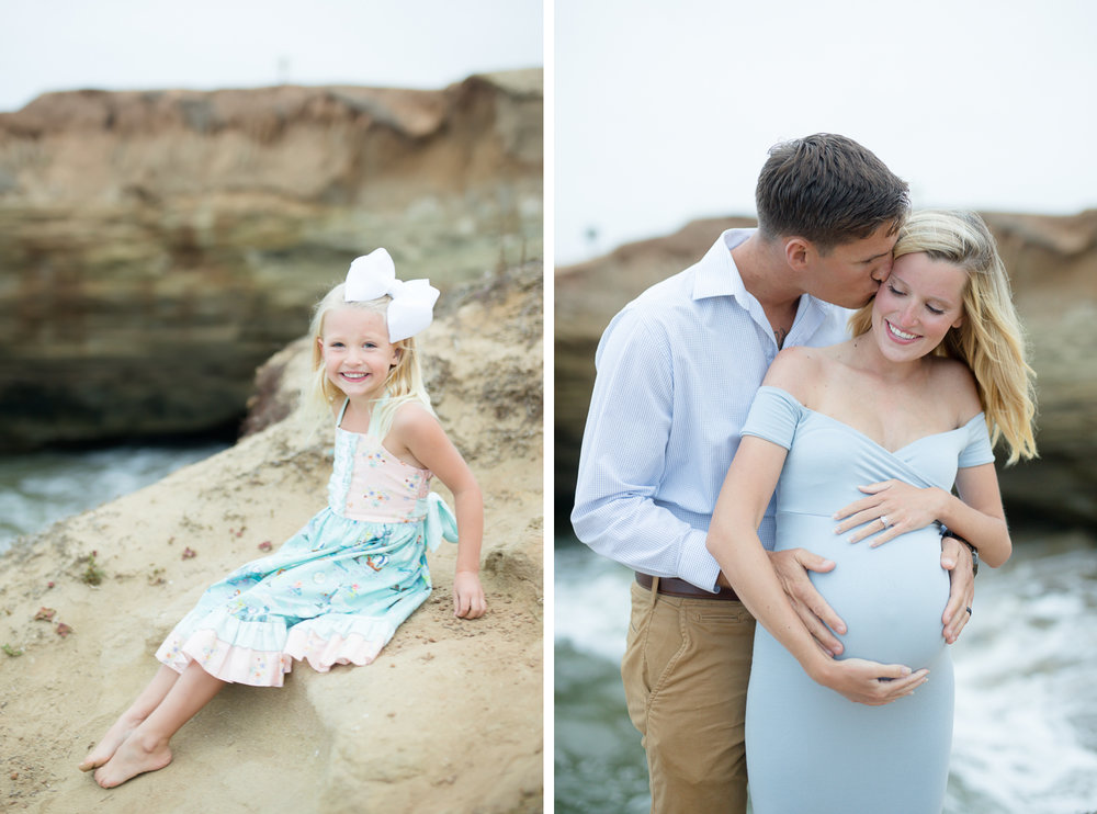 san diego family maternity photographer