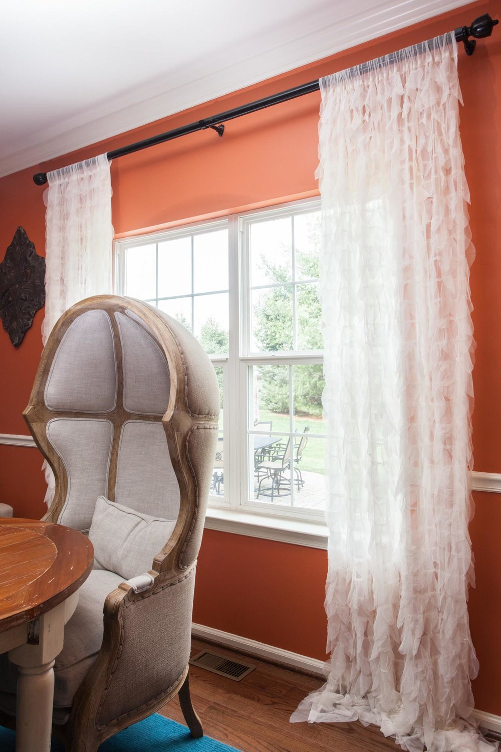 Light and bright window coverings