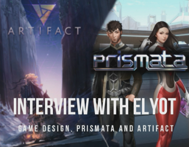 Interview with Elyot - One of the developers behind Prismata talks with me about game design and his thoughts on Artifact.Video -May 11, 2018