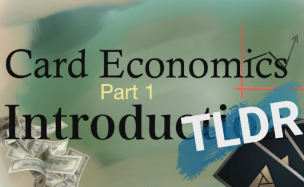 Card Economics 1