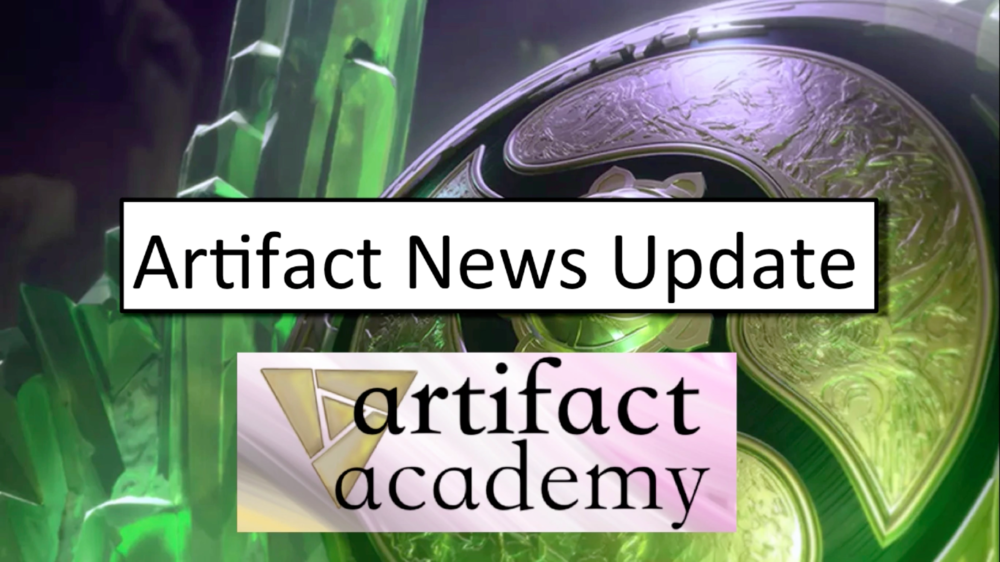 Artifact News Update (Pre-TI8) - Talking beta leak, and what to expect from The InvitationalVideo - July 26, 2018