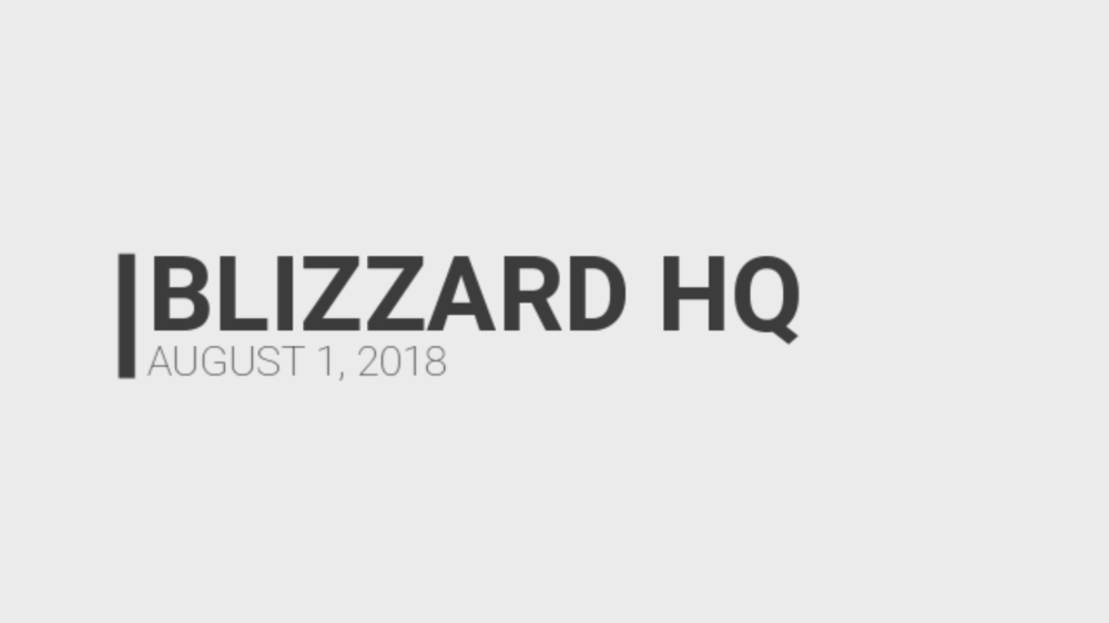 Inside Blizzard HQ - How does Blizzard react to the Artifact news? Let's find out!Humour/Video - August 2, 2018