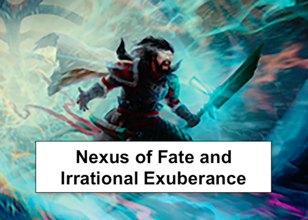 Nexus of Fate and Irrational Exuberance - What's up with the Nexus of Fate bubble?Video - August 12, 2018