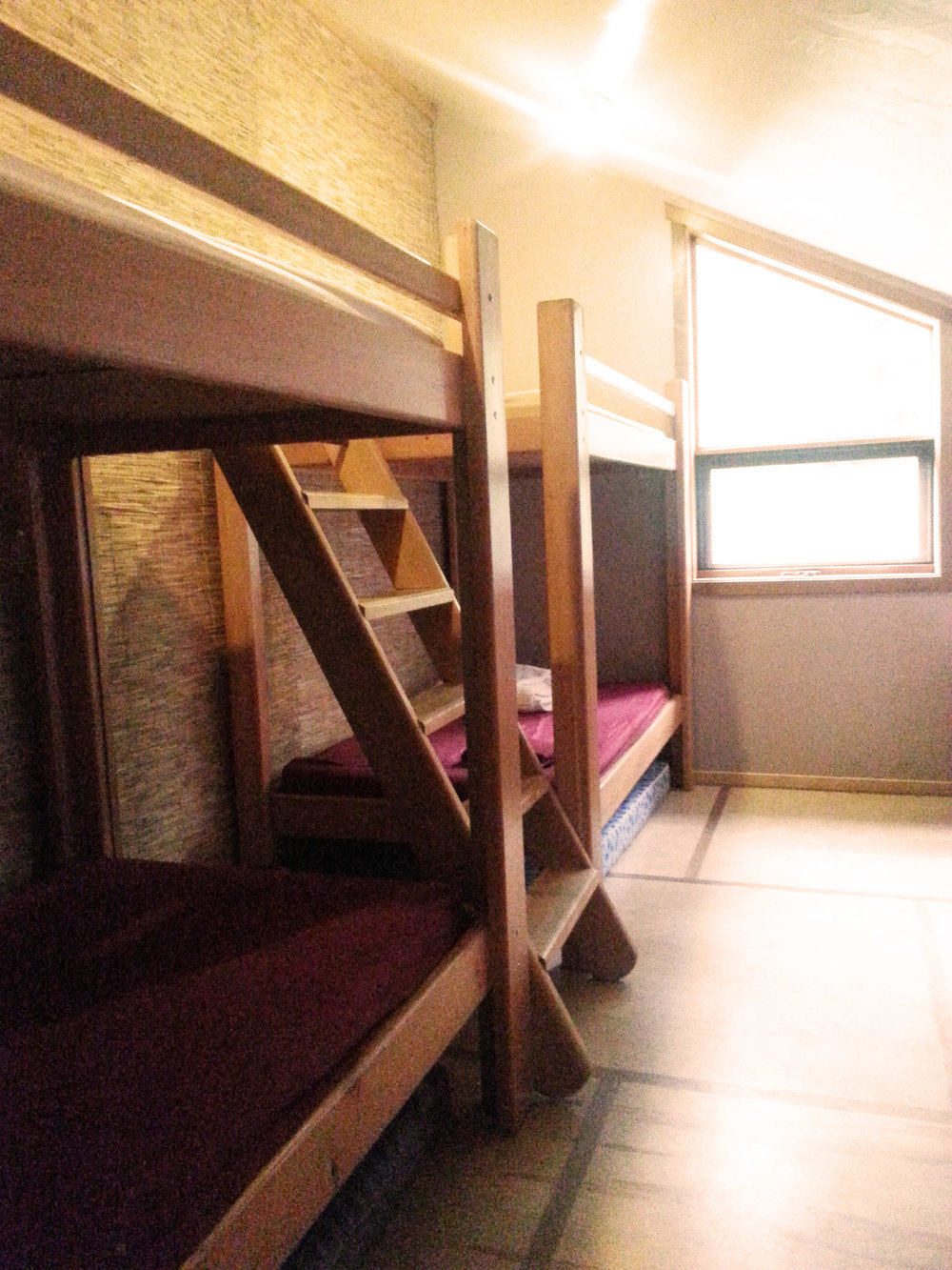 PACKAGE 3 - DORM ROOM W/ SHARED BATH  Features: Forest Views, Single Beds, Shared Bath, 3 Gourmet Meals per day, Max 3 people per room   PKG 3 $1699.00 CDN/ Per Person