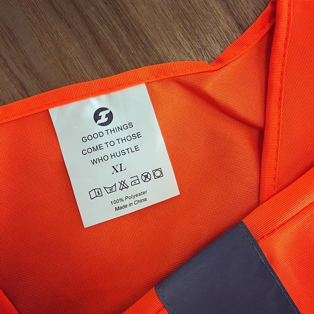 It's always exciting to sign up a new team member. We find new staff add value to the existing team by sharing their experience and contributing their skill set. Our hi-vis are a reminder that hard work pays off.  #hustle #hustlenewzealand #sitesafety #healthandsafety #teamorange #goodthingscometothosewhohustle #auckland #teamwork #hivis #vest #hardwork #💪🏼