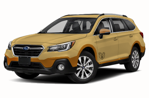 The Subaru Outback National Park Edition features khaki exterior body color with brown trim. The park logo will be stamped on both driver and passenger doors.