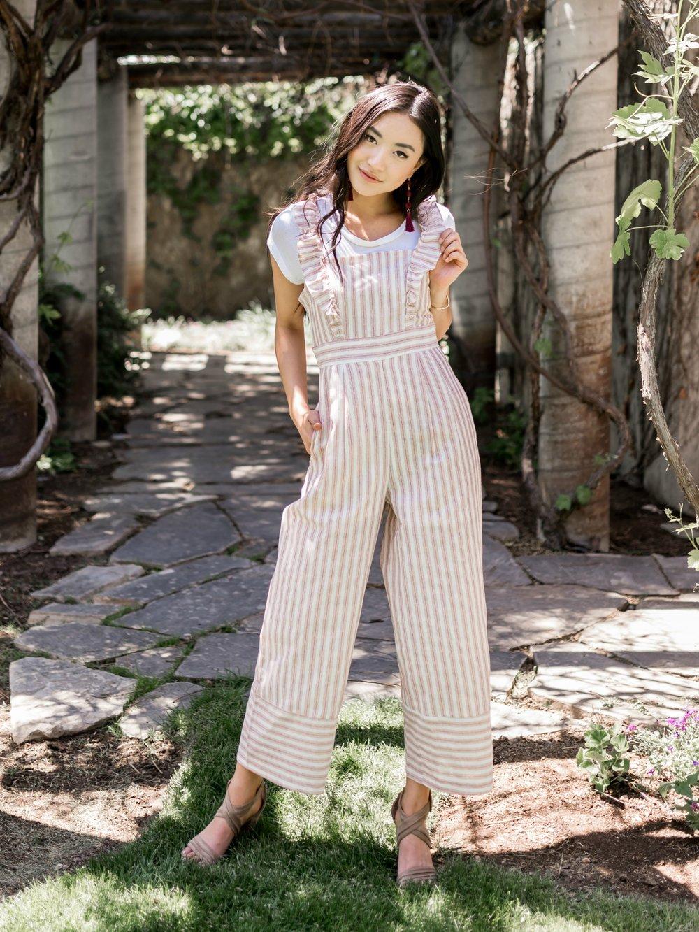 My Kind Of Stripes Jumpsuit