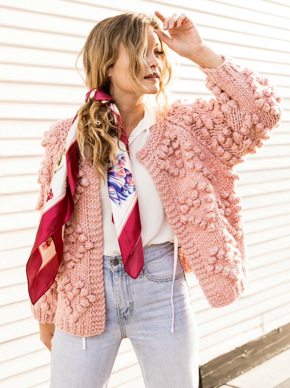 Hearts On My Sleeve Cardigan