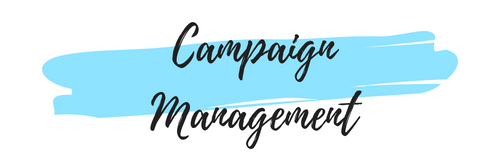 Campaign Management - An end to end service is planned and delivered to make sure the marketing strategy is executed seamlessly.