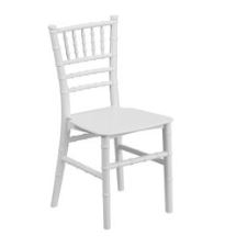 Chid's Chivari Chairs-  Colors: Pink, Ghost, White, Black  Sets of 12 $72.00  Each $6.00