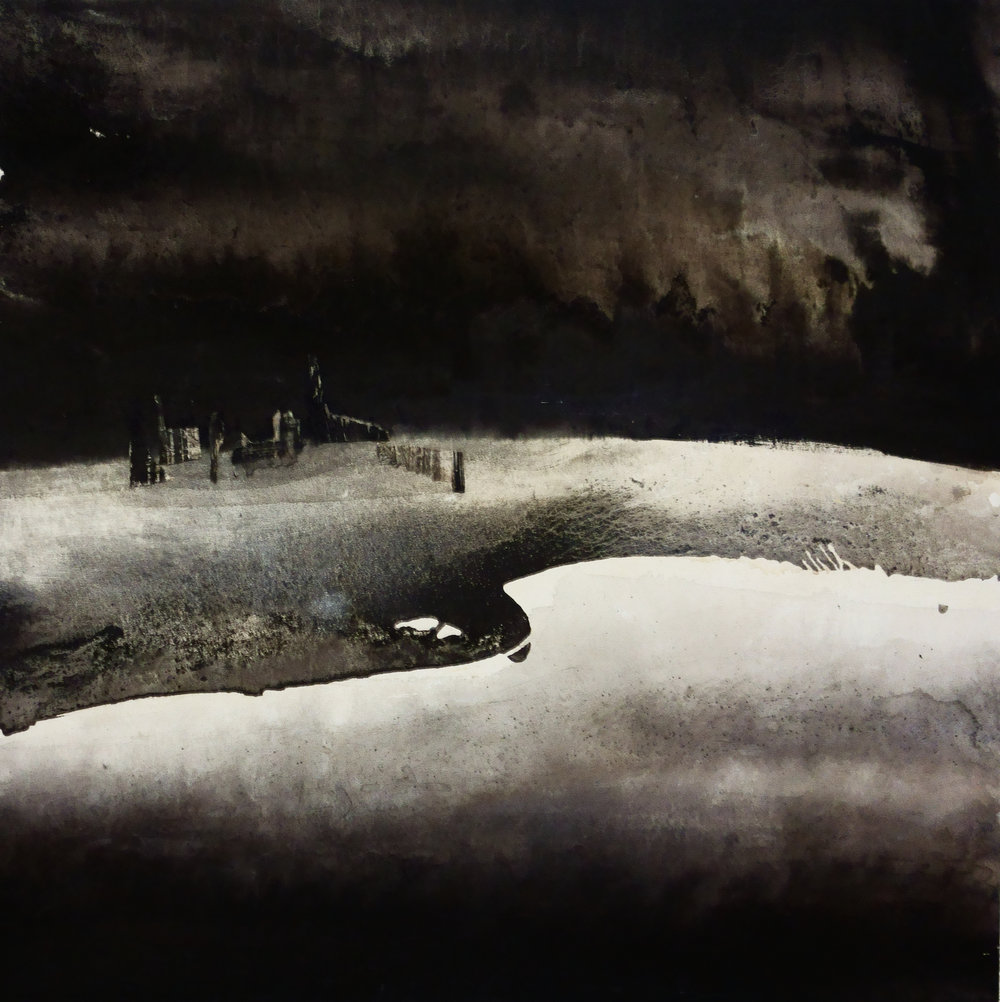 Li Chevalaier, 11 Sept 2014 Ciel de Pekin, 150x150cm, 2014.jpg
