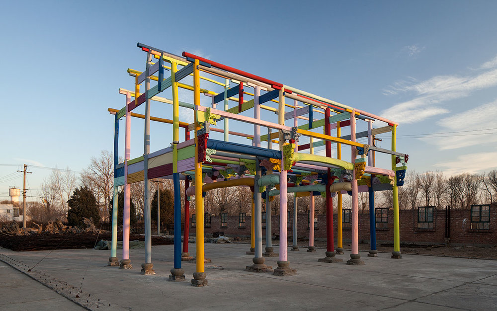 Ai Weiwei Colored House 2015 © Image Courtesy Ai Weiwei studio