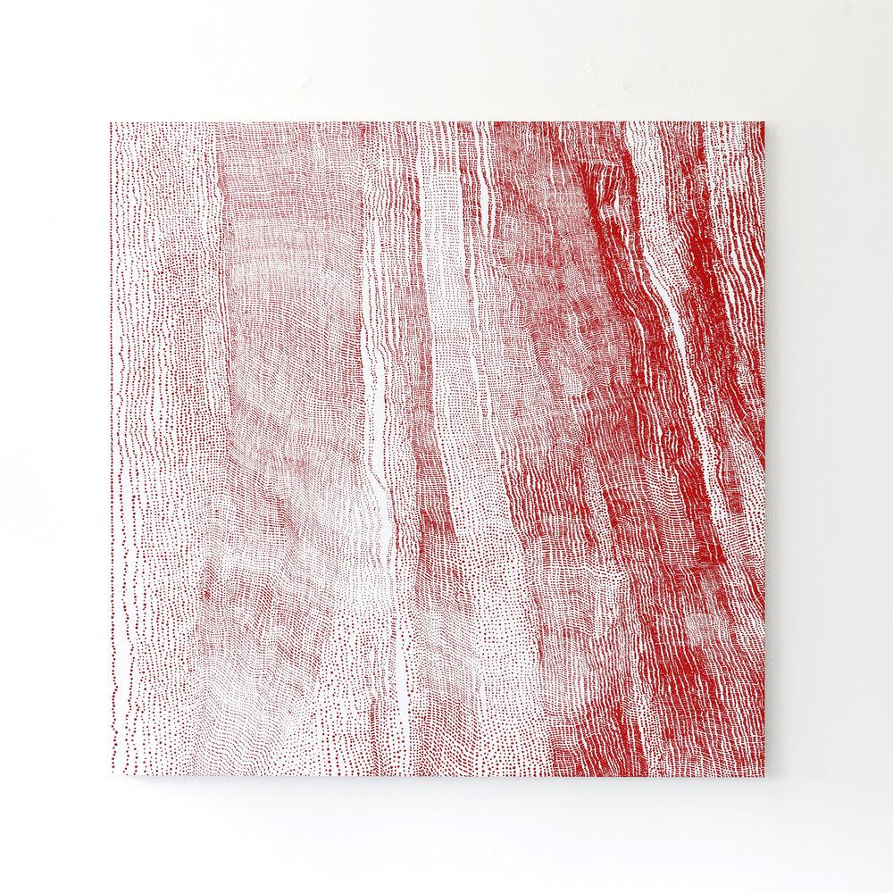 Mio Yamato,  Repetition Red (dot) 23 , Courtoisie de l'artiste et COHJU Contemporary Art