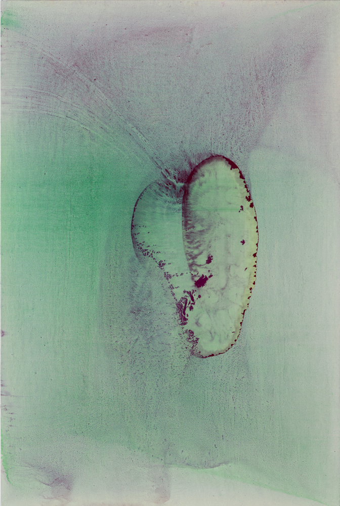 Momoko Jennifer Iida,  & hearts; , huile sur toile, 2017. Courtoisie de l'artiste et Talion Gallery