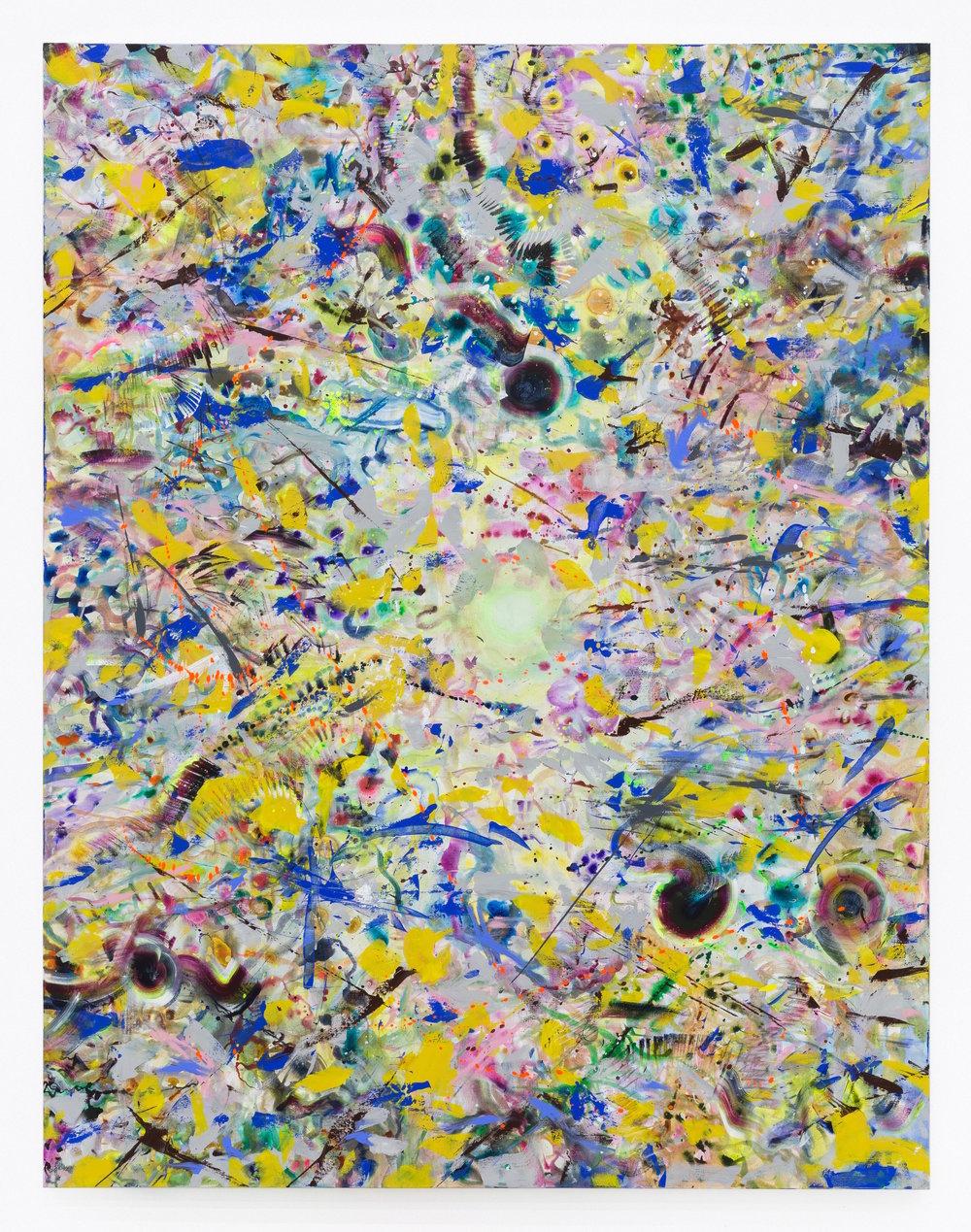 Wang Haiyang,  Untouchable #9 , 2017, Acrylic on canvas, 260 x 200 cm.