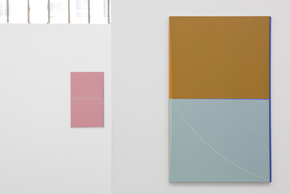 "Jonas Weichsel: ""Color Plates"", 2013, Exhibition views Galerie Parisa Kind"
