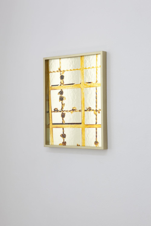 """Marcus Gundling: """"Pool"""", 2013, Exhibition views Galerie Parisa Kind"""