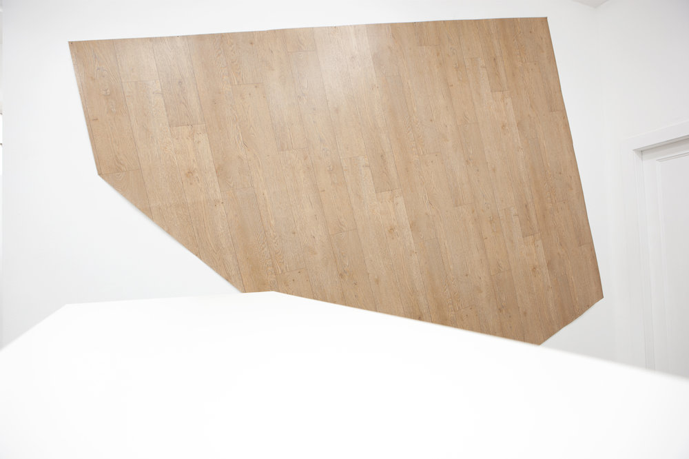 "John Arnold, Sarah Braman, Isabelle Fein, Timothy Furey, Andrei Koschmieder: ""ON AND ON AND ON"", 2011, Exhibition views Galerie Parisa Kind, Frankfurt am Main"