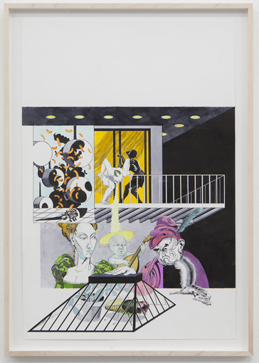 "Trenton Duerksen: ""Society"", 2011 Galerie Parisa Kind, Frankfurt am Main"