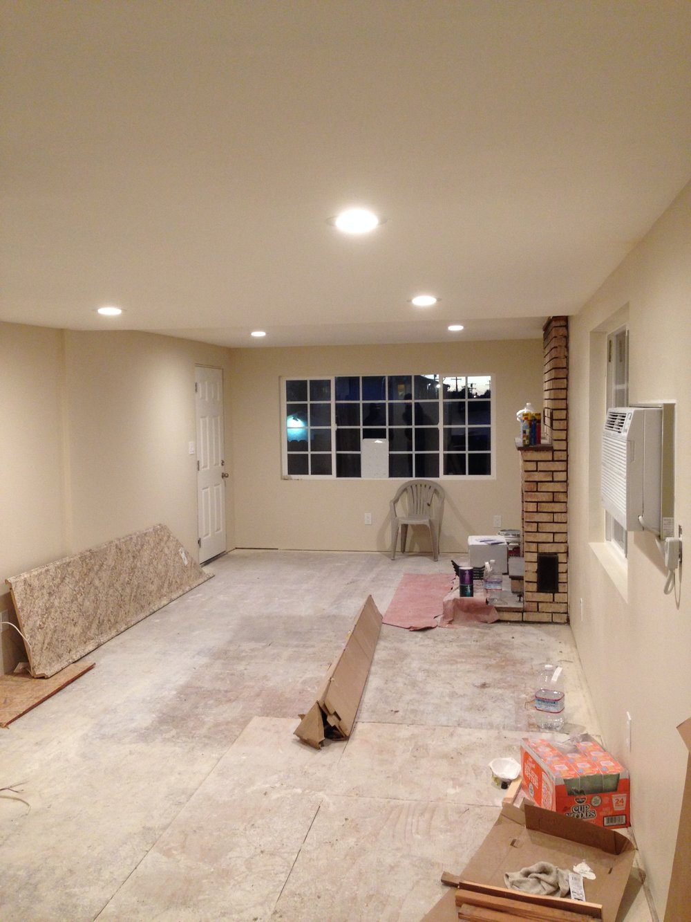 Drywall & Paint - Living Room