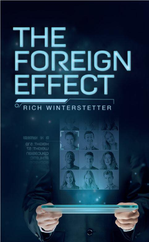 "The Foreign Effect - Current Status: ReleasedRelease Date: May 2018Genre: Science Fiction / Cyberpunk / Crime DramaCover by Lisa WiedlroitherBuy it on:Lulu.comAmazon .com | .co.uk | .de | .frPolice officer Rebecca Gonzalez struggles to make ends meet between caring for her terminally ill mother and moonlighting at Sirona Corp, a company which among other services, offers TransLife – the possibility of permanently transferring your consciousness into a younger human host. In a world where suicide is a crime these hosts are recruited from the ""lucky"" survivors and provide a limited resource pool for a rapidly growing customer market. When her neighbor tries to commit suicide under mysterious circumstances Rebecca is drawn into a conspiracy that shows clearly that the rift between the classes of society is bigger than ever and the value of a single human life has become dangerously low."