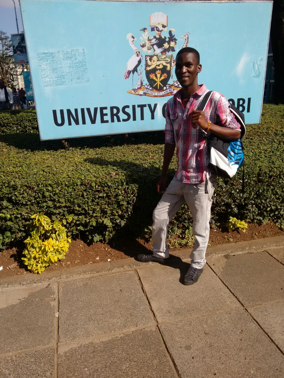 Starting out - Emmanuel starts his University journey
