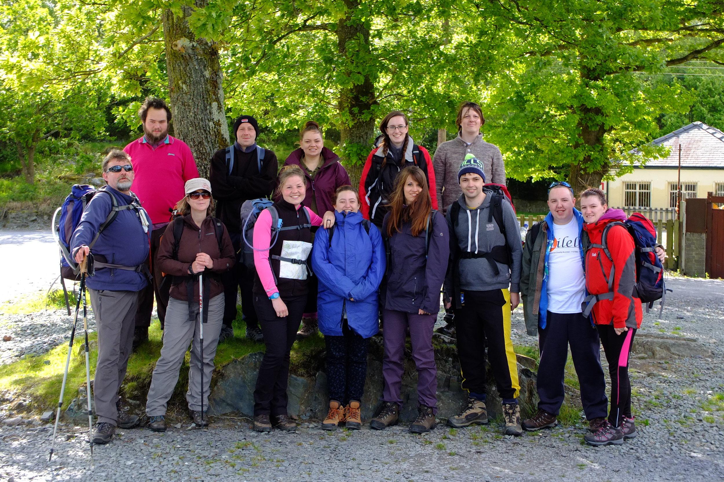 The Milele Mountain Climbers