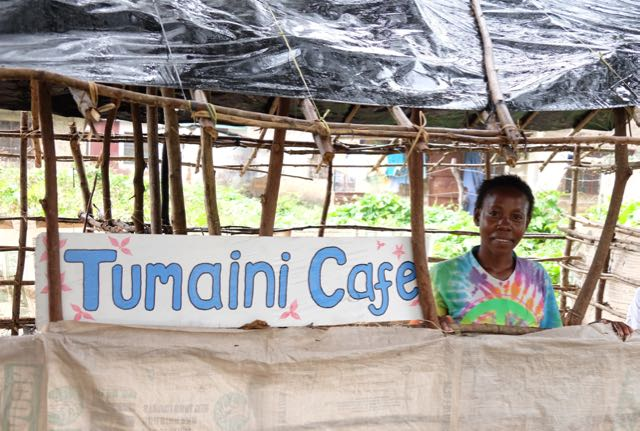 Tumaini Cafe (Hope Cafe) started with a Milele Business Grant