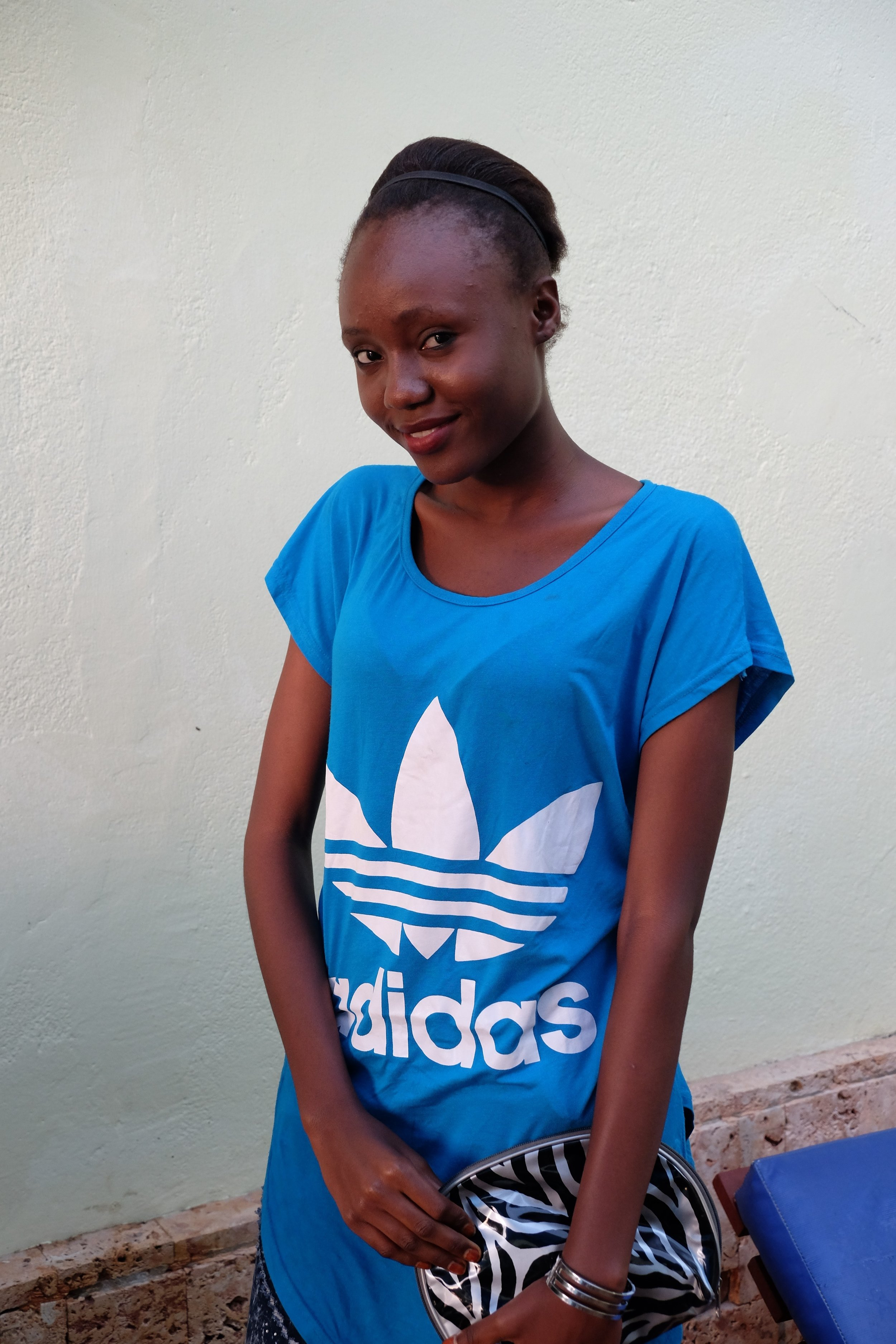 Josephine is sitting her KCSE exams this week