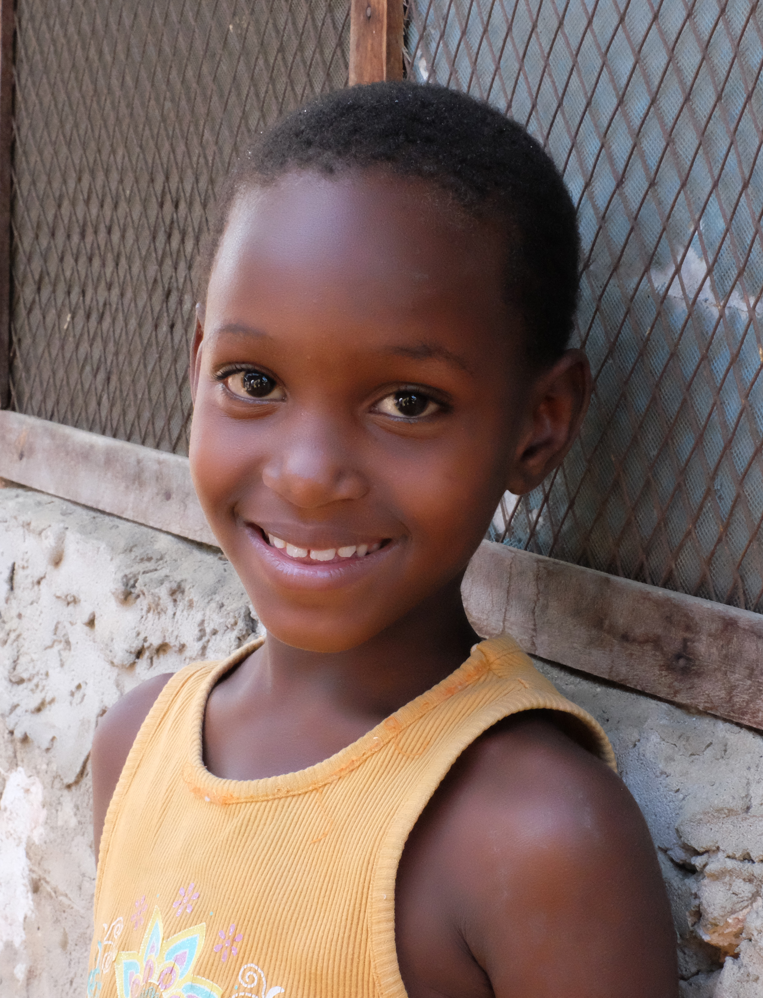 Riziki - our new sponsored child