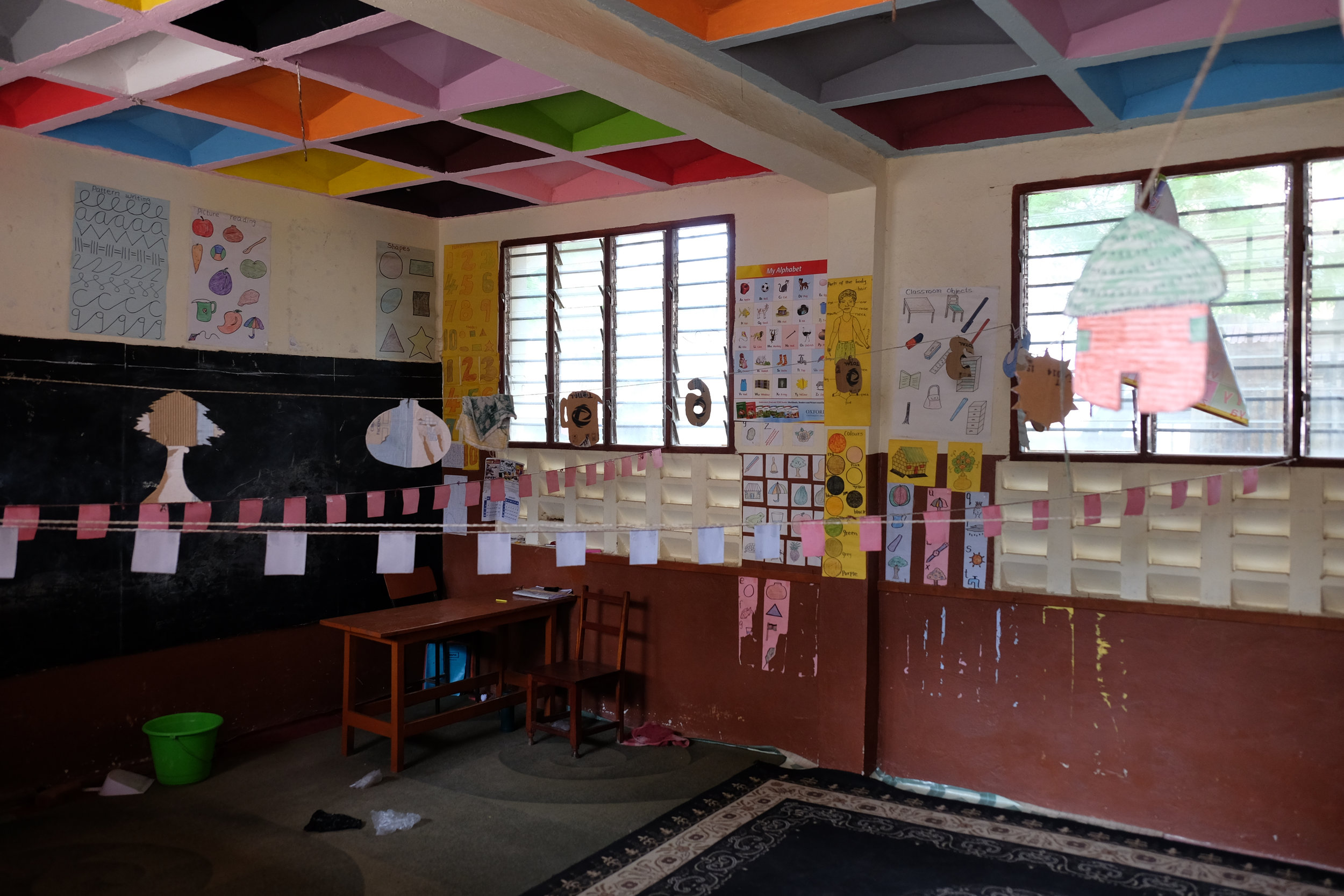 Kindergarten classroom at Mtwapa Elite