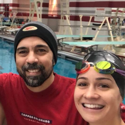 Rudy Espino Substitute Coach - Rudy started swimming at the age of eight in Panama City, Panama. He loved the competitiveness and individual traits of the sport but mostly he loved the swimming community. Rudy had a great swimming career, and retired from the sport in 1995. He joined the Chicago Smelts in 2003 and enjoys helping the swimmers reach their goals, be it improving technique or achieving personal bests at the Illinois Masters State Meet.