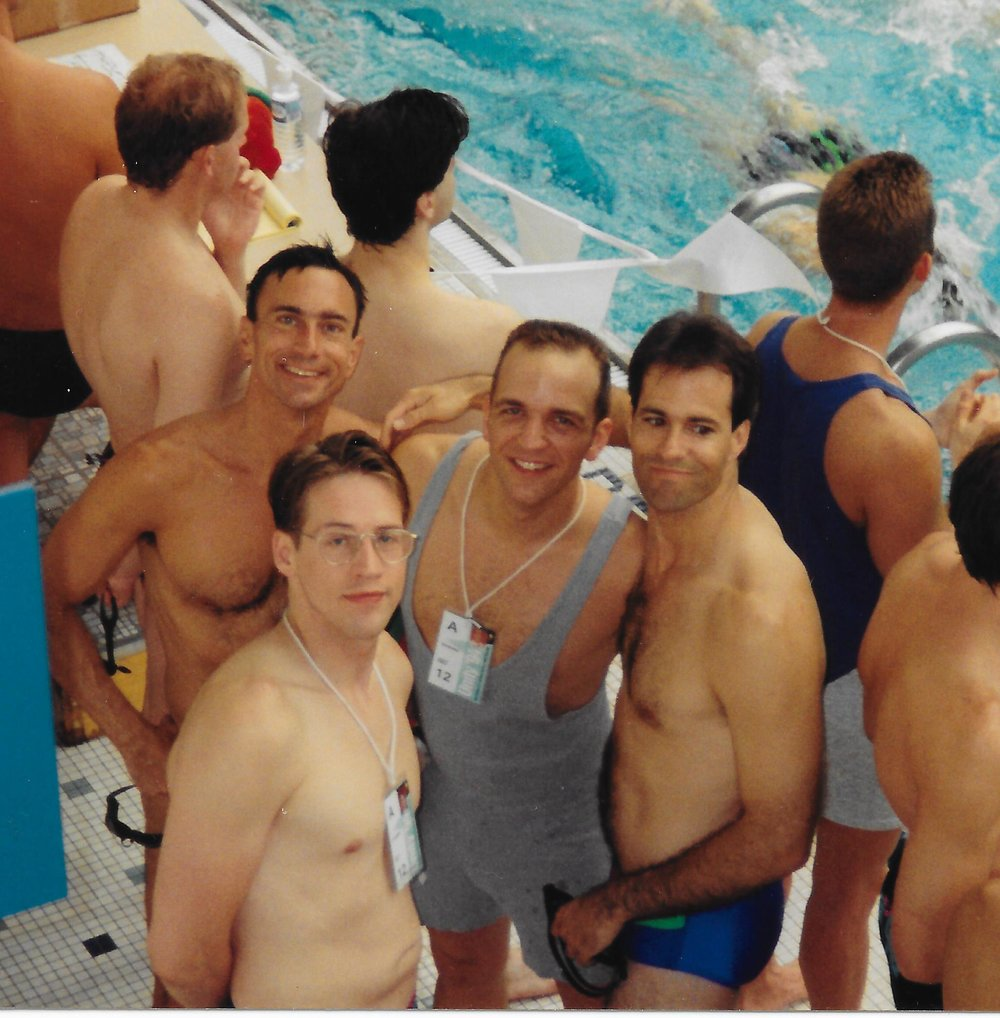 1994 Gay Games IV - Tom Chiola, Stuart Paul, Joe Killilea