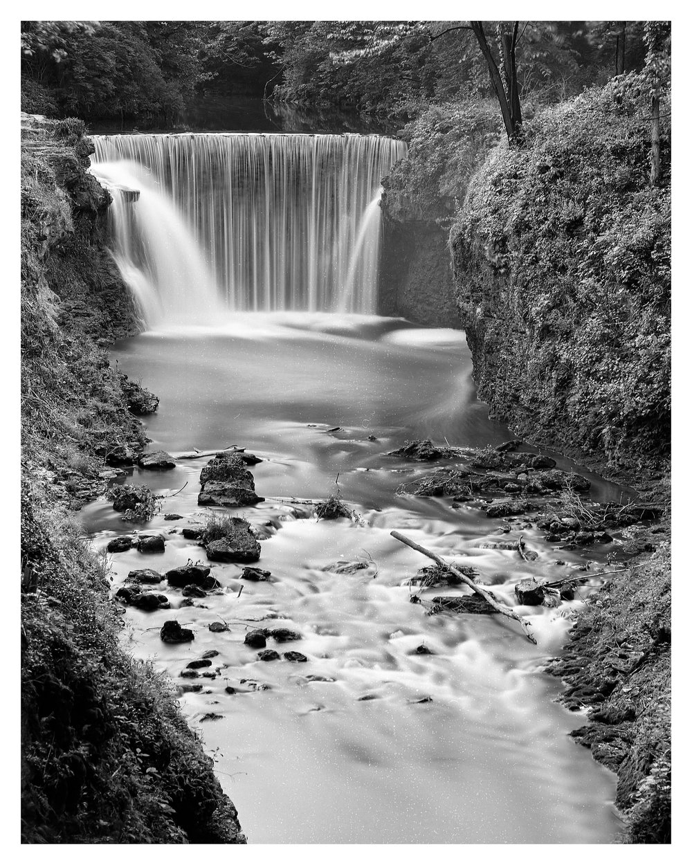 Mamiya RB67 ProS w/90mm lens on Ilford PanF 50 @ f/16, 2 minutes with a 4-stop ND filter