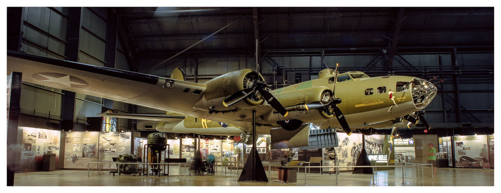 Memphis Belle B  – Mamiya RB67 ProS w/50mm f/4.5 lens on 35mm Ektar in a 220 back. 240 seconds @ f/16