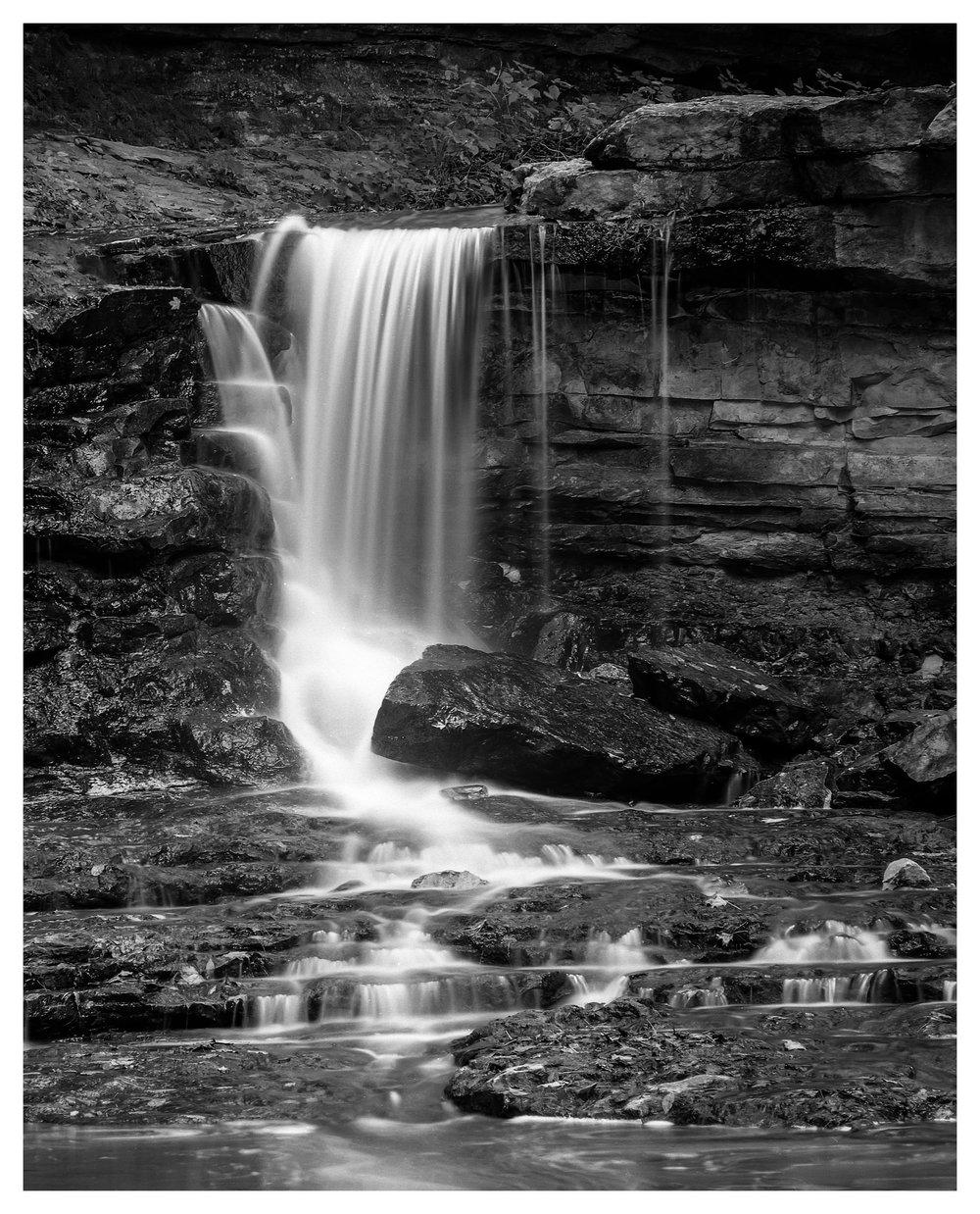 McCormick Falls - Mamiya RB67 ProS with ACROS 100 film, long exposure