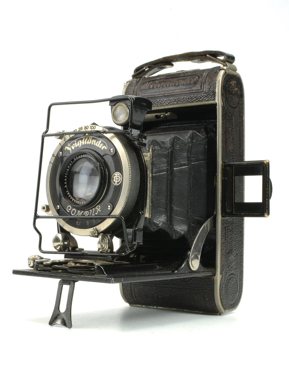 1937 Voigtlander Bessa - I have a future blog about this camera and all of the adventures its seen over its lifetime. The fact that this was the height of technology in its day and you framed your image with the small square piece on the right meant you had to know what you were doing back in the day to get the shot.