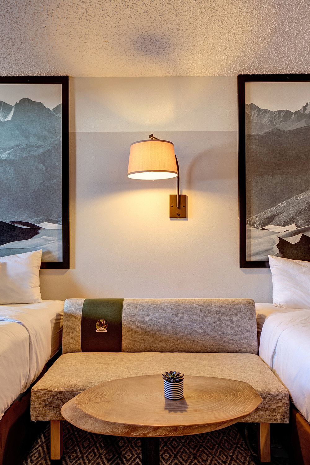 Loyal Duke Double Queen - Ground floor non-smoking room offering a panoramic view of the beautiful Sawatch Range with two queen-sized Simmons Mattress beds. Perfect for that extended stay or a family traveling with children.