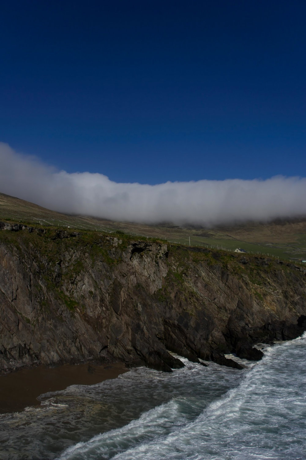 Along the southern side of Dingle Peninsula — following Slea Head Drive. This is  Slea Head Beach . (Get directions by clicking the image.)
