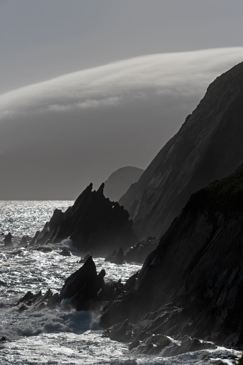 "This is the view of ""Devil's Horns"" from Slea Head Beach. Rock on. (Get directions by clicking the image.)"