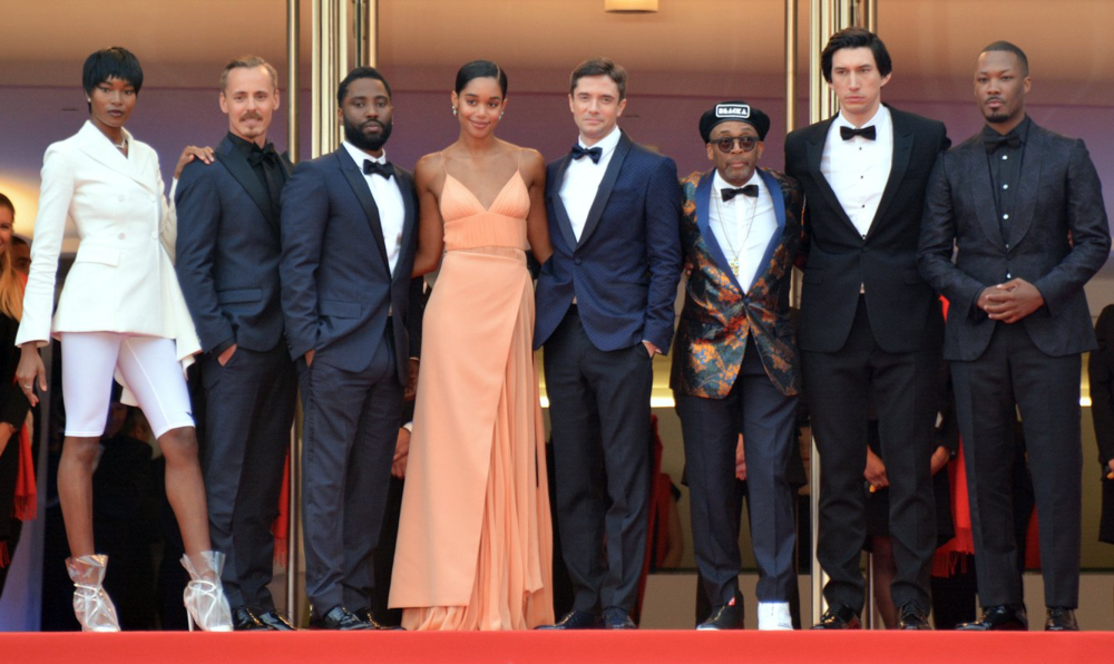 Jasper with the rest of the cast in Cannes.